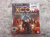 SONY GAME XCOM ENEMY WITHIN PS3